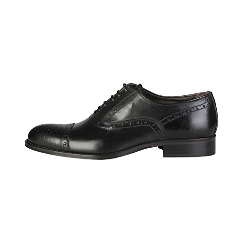 Made In Italia - UMBERTO Oxford Chaussures De Ville À Lacets Homme 100% CUIR VÉRITABLE