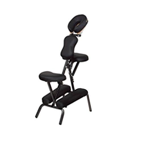 Preisvergleich Produktbild Bank Sessel für Massage Tattoo Griff verstellbar schwarz verstellbar 54003