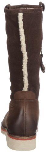 Marc O'Polo 10647001 10647001140 Damen Fashion Stiefel Braun (dark brown 790)