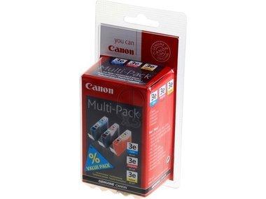 Canon I 550 Series (BCI-3 E / 4480 A 262) - original - 3 x Tintenpatrone MultiPack (cyan, magenta, gelb) - 500 Seiten - Canon Bci-3 Inkjet-patrone