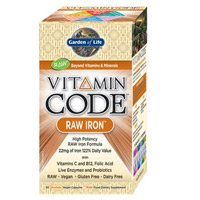 Garden of Life Vitamin Code Raw Iron