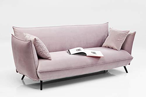 Kare Design Sofa Molly 3-Sitzer Rose