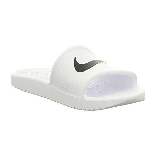 Nike 832655-100, Zoccoli donna bianco-nero