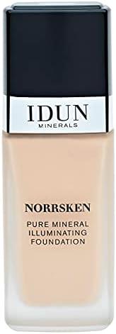 Idun Minerals Norrsken lystergivande foundation 30ml. Disa, Light Medium Neutral