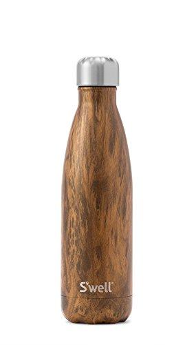 Swell Botella Termo, Acero Inoxidable, Marrón, 7.11x7.11x26.4 cm