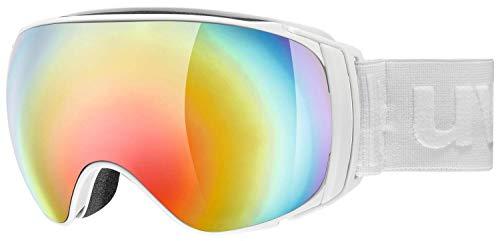 Uvex Skibrille Sportiv Full Mirror Weiss (100) 0