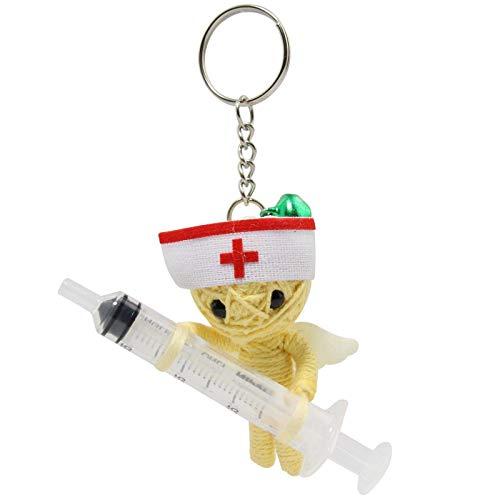 Freak Scene Voodoo Püppchen - Krankenschwester - Voodoopuppe - Schlüsselanhänger