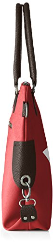 Bags4Less - Stern-mini, Borsa a tracolla Donna Rot (Velours-Rot)