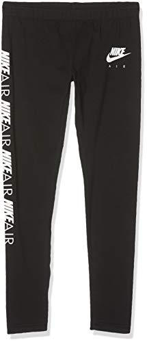 Nike Mädchen G NSW 3/4 TGHT FAVORITES AIR Pant, Black/White, M - Nike Air Mädchen