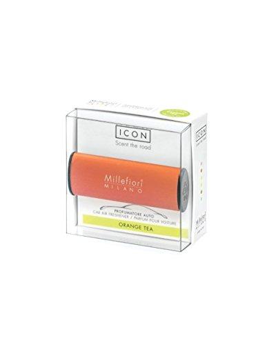 Millefiori 8059265194766 Car Freshner Icon Orange Tea Candele Saponi Profumi E Diffusori, Multicolore, U