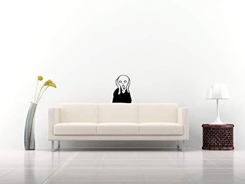 Decords Küchen-Kühlschrank Tür Vinyl Niedlicher Aufkleber - Das lustige Stanzset Kunst Lebensmittel Kühlschrank Gefrierschrank Aufkleber - Abnehmbares Etikett Hautstock Schale Wandbild