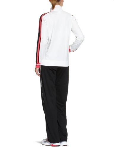 Champion Survêtement de sport Femme blanc/noir/rosa