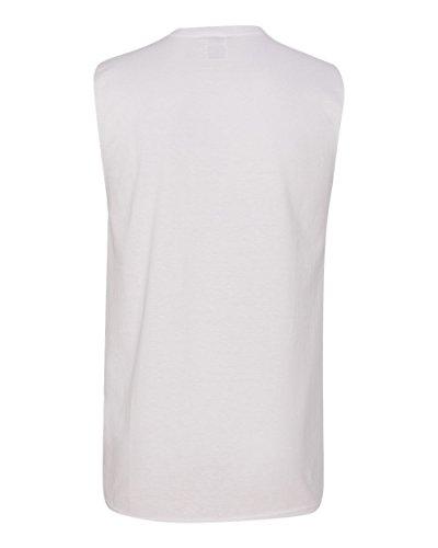 Jerzees -  T-shirt - Uomo White