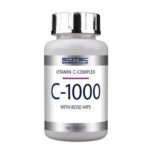 #Scitec Essentials Vitamin C-1000 (100Kapseln)#