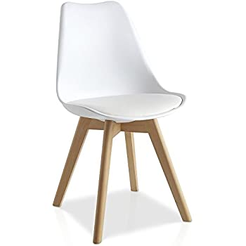 Mmilo Tulip Pyramid Dining Chair Office Chair With Solid