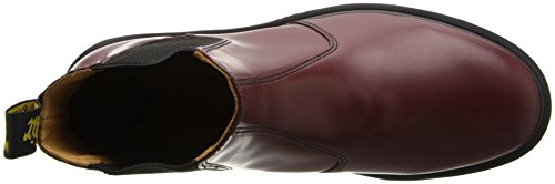 Dr. Martens 2976 Smooth Unisex-Erwachsene Chelsea Boots Rot (Cherry Red)