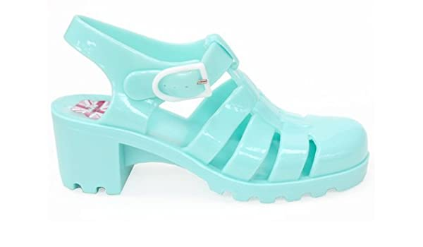 5bc4858b913f JUJU Jellies Babe Womens 80s Summer Ladies Jelly Shoes Sandals Size UK 6   Amazon.co.uk  Shoes   Bags