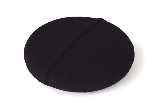 Sitzkissen Bezug velours SITFIT 33 cm,  schwarz -