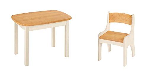 Biokinder risparmio set levin tavolo e sedia per bambini
