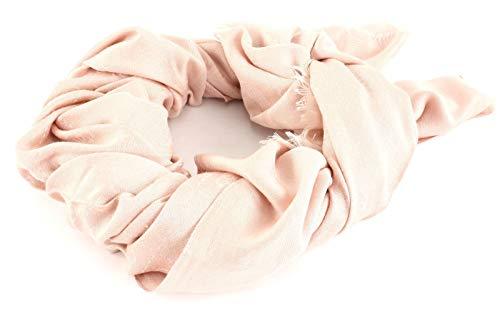 Guess Logo Lux Scarf Blush - Logo-rosa Damen-schal