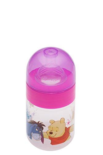 2 ER Set : DISNEY WINNIE OURSON ROSE bébé bouteille à col large 125 ML + 250 ml de 0 mois pour nouveau-né