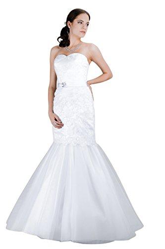 Hochzeitskleid Meerjungfrau Elegante Meerjungfrauen Hochzeitskleider