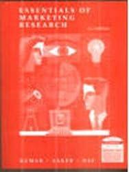 Essentials Of Marketing Research, 2E
