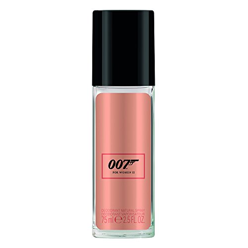 James Bond 007 For Women II - Deodorant Spray - Blumiges, orientalisches Damen Deo - langanhaltend und frisch - 1er Pack (1 x 75ml)