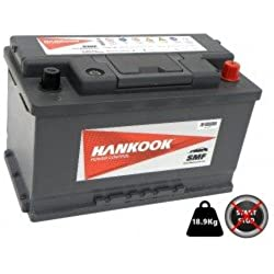 Hankook 75Ah Batterie de Voiture - MF57539