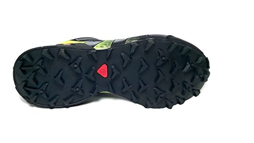 XR Trek Explorer Pro, Scarpe da Trail Running Black/Smoke/Fluorescent Green