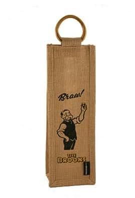 """Paw Broons """"Bottle Bag"""" Jute Gift Bag"""