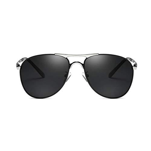Aviator Sonnenbrille UV400 Schutz Polarisierte Sonnenbrille Metall Robuster Rahmen Laufen Radfahren Angeln Fahren Golf Fit Jugend