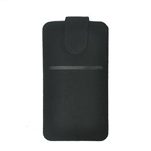 Bonne qualité iPhone 6Ultra-Soft Genuine Leather Pull Up Tab de la couverture de la caisse du manchon avec emplacement pour carte pour Apple iPhone 6
