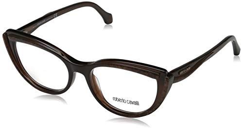 Roberto Cavalli Damen Rc5043 050-53-17-140 Brillengestelle, Braun, 53