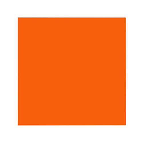 LLAni 15 x 15 cm Plexiglas-Platte, farbige Acryl-Blatt, DIY Spielzeug Zubehör Modellbau Orange (Blatt Acryl-plexiglas Farbe)