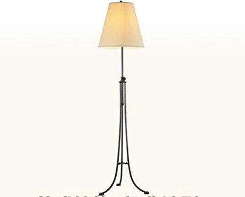 Modernes Metall-Tuch Justierbares Stativ LED-Stehleuchte Wohnzimmer-Schlafzimmer Büro-Studio-Landhaus Hotel-Galerie-Leselampe , black