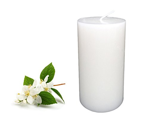 Collumino-Wild-Jasmine-Scented-Pillar-Candle-35-hr-10x55cm