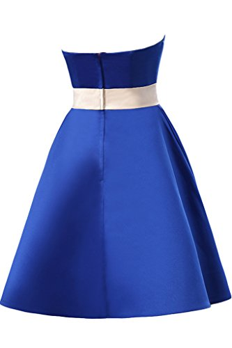 Missdressy -  Vestito  - plissettato - Donna Blu Royal