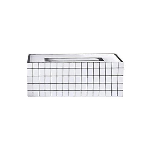 Aufbewahrungsboxen,Rifuli® Nordic INS Wooden Crafts Wohnzimmer Esszimmer Dekoration Tissue Box Boxen Kästen Küche Haushalt Wohnen Möbel Wohnaccessoires