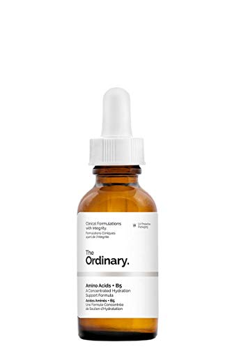 'The Ordinary' Amino Acids + B5 30ml (Vegan) a concentrated hydration support formula provide surface and below-surface hydration while aiding in skin repair and anti-irritant functions -