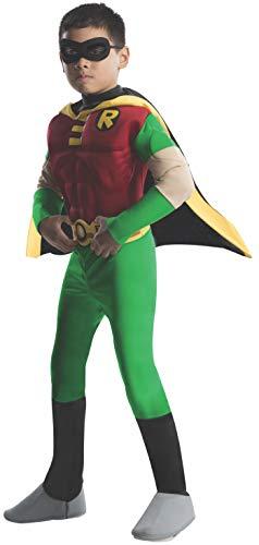 Kostüm Dlx MuscleChest Robin Größe S ()