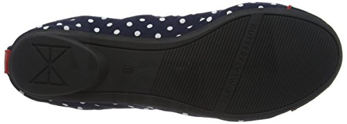 Butterfly Twists Cara, Ballerines Femme Blue (navy-045)
