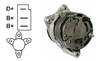 Generatore Alternatore Marine d' ordinazione Various 24V/55A: 110577Ref.- N.: (Ref.-
