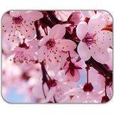 light-pink-bright-flowers-cherry-blossom-sakura-cute-mouse-pad-mat-soft-washable