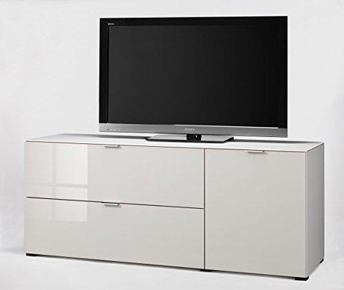 CS Schmalmöbel 45.012.570/019 TV-Board Cleo Typ 14, 163 x 50 x 67 cm, weiß/sandglas - 2