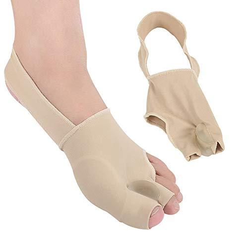 GRX-DDY Hallux Valgus Korrektur, Gelzehenseparatoren, Bunion-Schmerzlinderung für Männer und Frauen, Großer Fußknochen-Zeh für den täglichen Gebrauch Teint, for Schmerzlinderung-1 Paar,35-40yards - Teint-behandlung