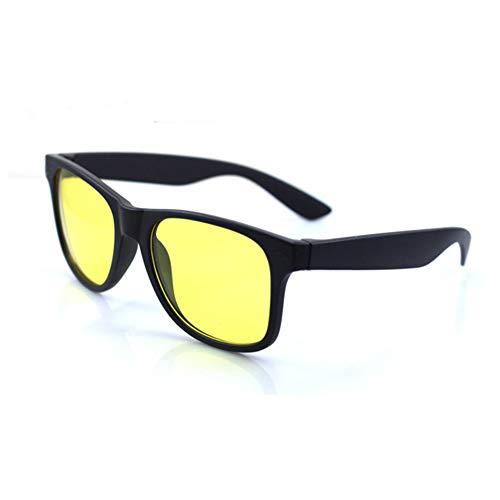 Man9Han1Qxi Nachtsicht Driving HD Anti-Glare-Schutzbrille Unisex UV-Sonnenbrille Eyewear Anti Uv Sunglass