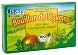 BOUILLON DE LEGUMES aux Herbes - 8x10,5g