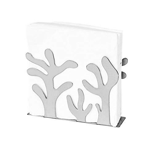 Rollenhalter Papierhalter Restaurant Hotel Serviette Handtuchhalter Edelstahl Quadrat Handtuch Tisch Esstisch Stehend Papierhandtuch @A - Hotel Wc Papierhalter