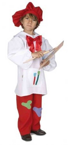 Disfraz infantil niño pintor - talla 7 - 8 años